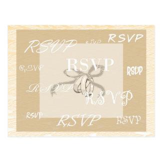 RSVP card Postcards
