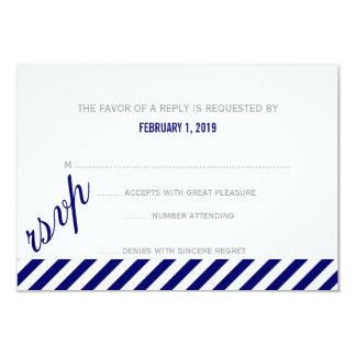 RSVP | Diagonally 9 Cm X 13 Cm Invitation Card