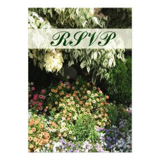RSVP flower garden Announcement