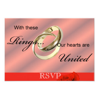 RSVP Gay lesbian Wedding invitation Announcement