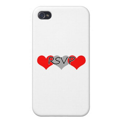 RSVP iPhone 4 COVERS
