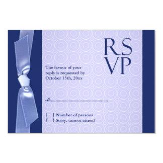 RSVP Jewish Wedding Ribbon Card 9 Cm X 13 Cm Invitation Card