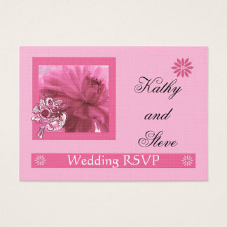 RSVP Mini Card for Email/Phone Response