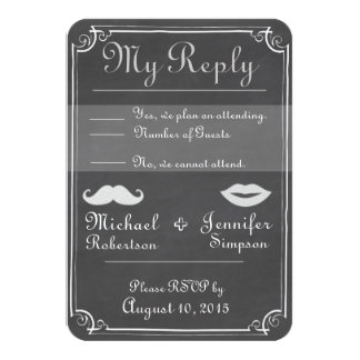 RSVP Old Fashioned Card
