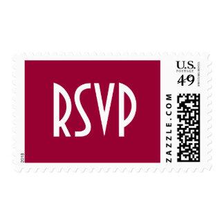 RSVP Postage Mauve