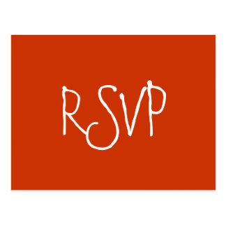 RSVP - Postcard