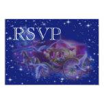 RSVP Princess Fantasy Wedding invitation