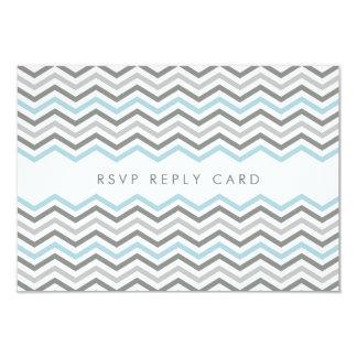 RSVP REPLY CARD :: chevron1 3 9 Cm X 13 Cm Invitation Card