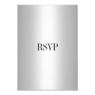 RSVP Response Card Silver All Events