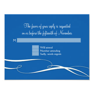 RSVP Response Infinity Symbol Sign Infinite Love W 11 Cm X 14 Cm Invitation Card