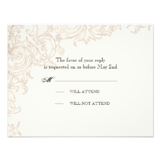 RSVP Response - Wings of Love Wedding Collection Invite