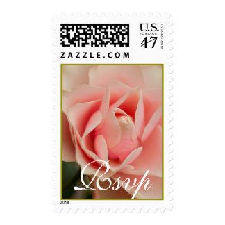 Rsvp Rose Postage