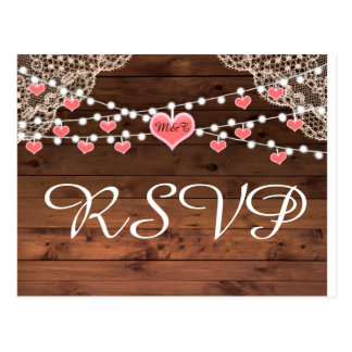 RSVP Rust Country Postcard