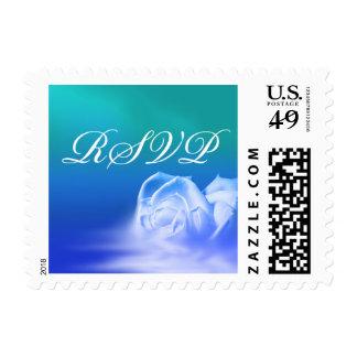 RSVP Wedding Invitation Postage Stamp