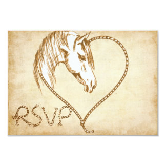 RSVP Western Wedding invitation