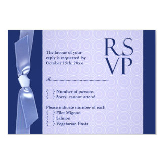 RSVP (with food) Jewish Wedding Flat Card Personalized Invite