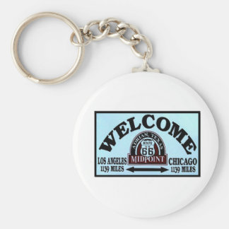 RT 66 MidPoint Key Ring