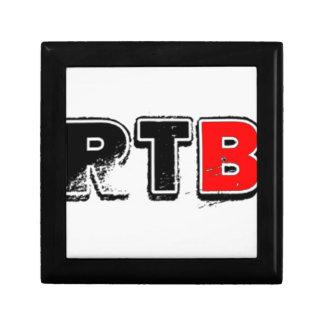 RTB Bold Logo RealTalkwithBrandon Jewelry Boxes