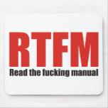 RTFM MOUSEPADS