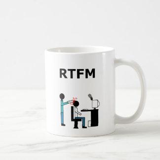 RTFM COFFEE MUGS