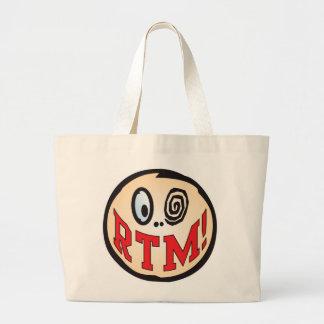 RTM Text Head Tote Bag