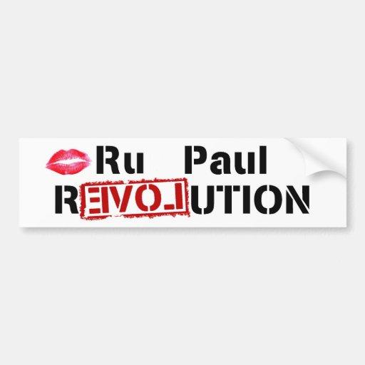 Ru Paul Revolution Bumper Stickers