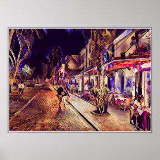 Rua de D Carlos I Funchal Madeira Poster/Print Poster