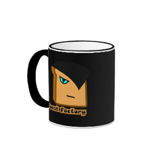 Ruan Toastie Black Mug
