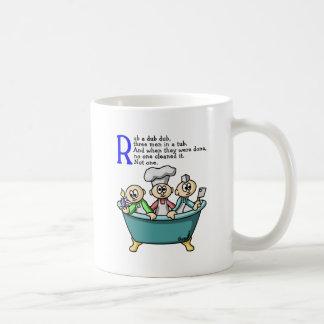 Rub A Dub Dub Coffee Mugs