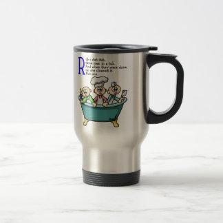 Rub A Dub Dub Stainless Steel Travel Mug