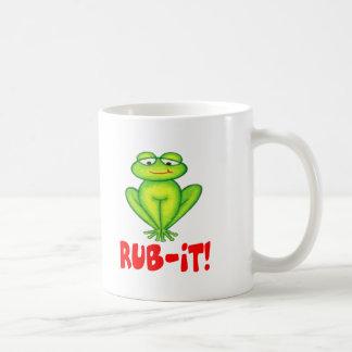 Rub-it Frog Basic White Mug