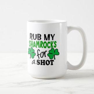 Rub My Shamrocks For a Shot Mug