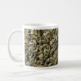 Rubbed mint coffee mugs
