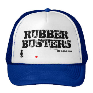 Rubber Busters Kickball Hat Mesh Hat