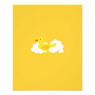 Rubber duck 11.5 cm x 14 cm flyer