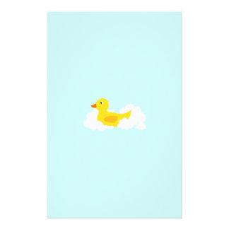 Rubber duck 14 cm x 21.5 cm flyer