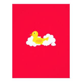 Rubber duck 21.5 cm x 28 cm flyer