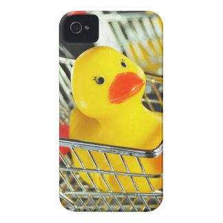 Rubber duck baby shopping concept iPhone 4 covers