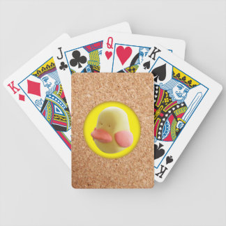 Rubber duck bicycle playing cards