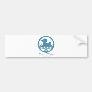 Rubber Duck Clan Car Bumper Sticker