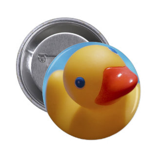 Rubber Duck Close-Up 6 Cm Round Badge