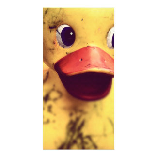 rubber duck customised photo card