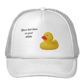 Rubber duck cute fun yellow custom hat, cap, gift cap