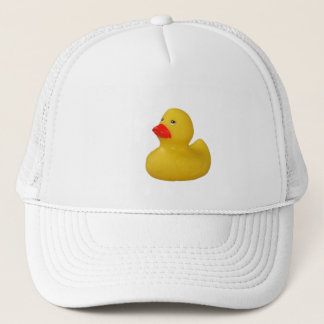 Rubber duck cute fun yellow hat, cap, gift idea trucker hat