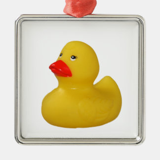 Rubber duck cute fun yellow ornament, gift idea christmas ornament