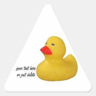 Rubber duck cute fun yellow sticker, stickers