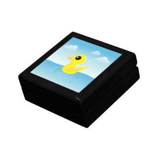 Rubber Duck Jewelry Boxes