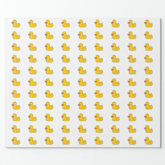 Rubber Duck Glossy Wrapping Paper, 30 in x 6 ft Wrapping Paper