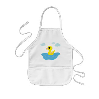 Rubber Duck Kids Apron