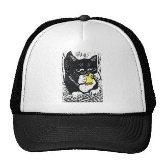 Rubber Duck & Kitten Cap